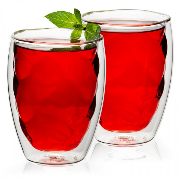 4home Termo pohár Raspberry Hot&Cool, 250 ml, 2 ks