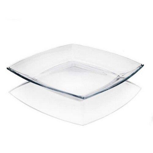 VETRO-PLUS Sada plytkých sklenených tanierov Tokio 26,5 cm, 6 ks