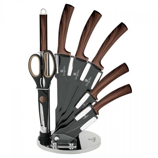 Berlinger Haus 8-dielna sada nožov v stojane Forest Line