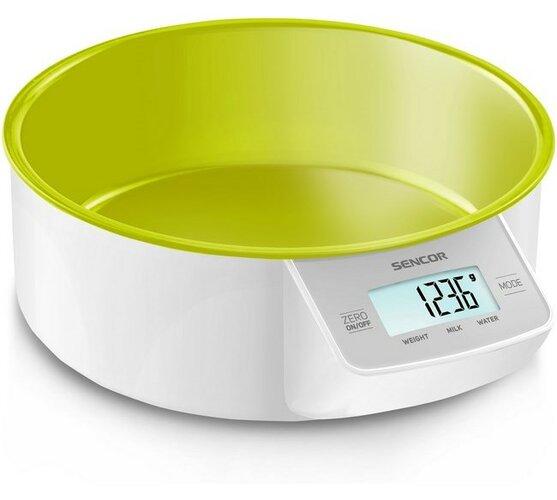 Kuchynská váha SKS 4004GR, zelená, Sencor