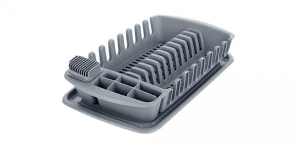 Tescoma Clean Kito odkvapkávač s podnosom, sivá,