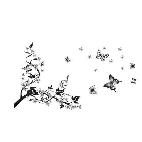 Samolepiaca dekorácia motýľ,