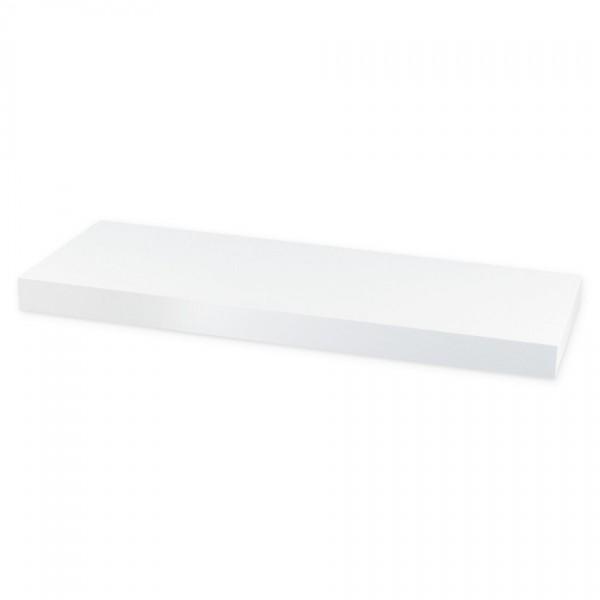 Nástenná polička Shelfy 60 cm, biela, 60 cm