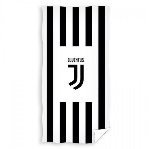 TipTrade Osuška Juventus Black Stripes, 70 x 140 cm