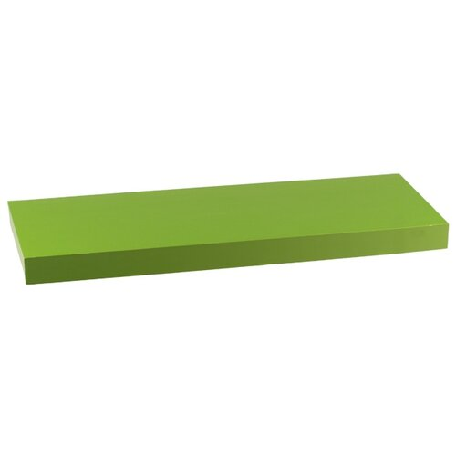 Nástenná polička zelená P-001 GRN