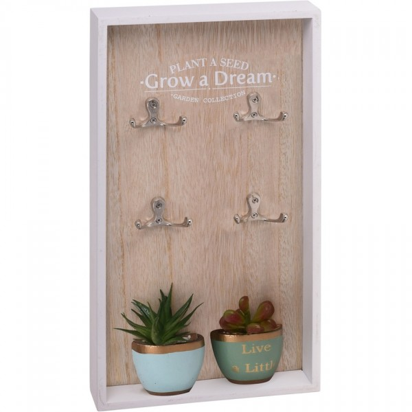 Koopman Skrinka na kľúče Grow a Dream, 40 x 20 cm