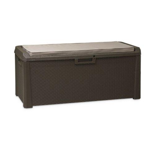 Aldo Multifunkčný úložný box Santorini Plus hnedá, 560 l