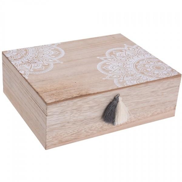 Koopman Sada dekoračných úložných boxov Mandalei 2 ks
