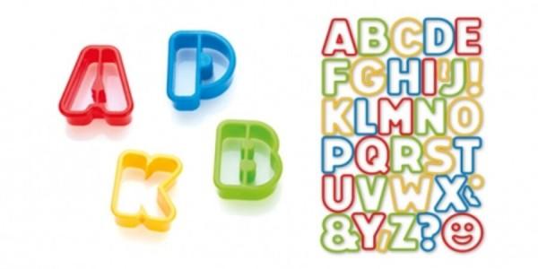 Tescoma Delícia Kids, Vykrajovače abeceda, 34 ks,