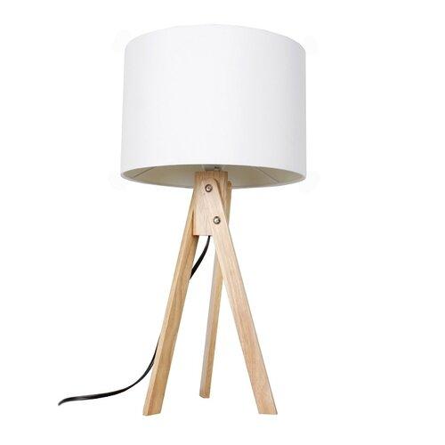Tempo Kondela Stolná lampa Lila 1, biela