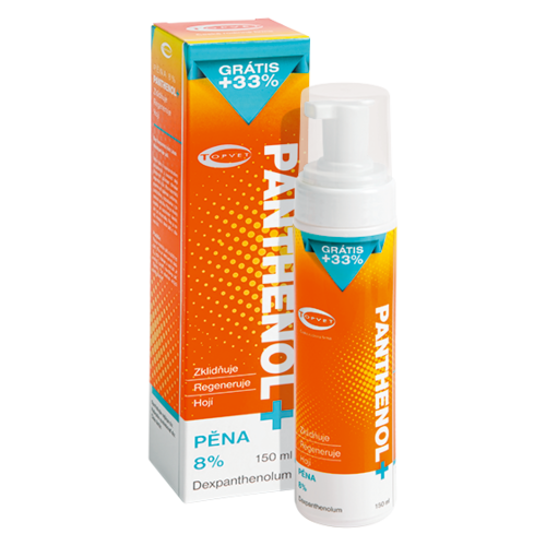 Topvet Panthenol pena 8 %, 150 ml