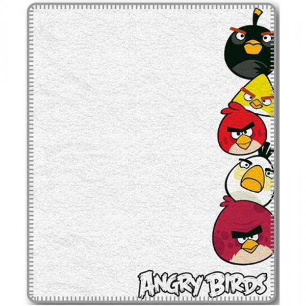 Jerry Fabrics Detská deka Angry Birds 040, 120 x 150 cm