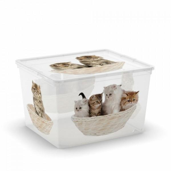 KIS C-Box Puppy & Kitten Cube 27l