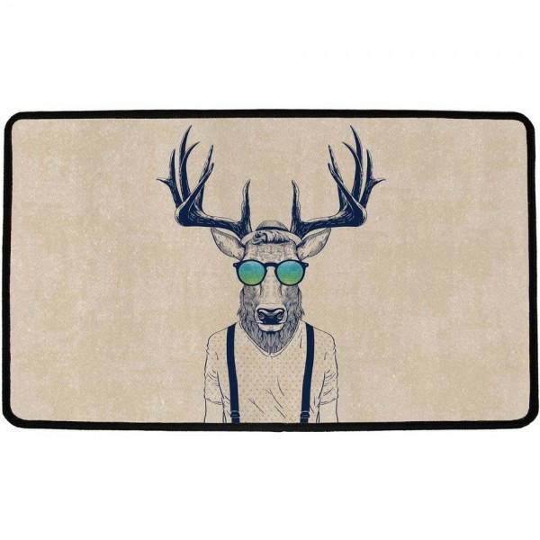 Butter Kings Vnútorná multifunkčná rohožka Coll horns, 75 x 45 cm