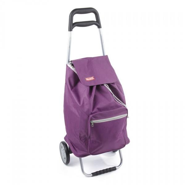 Aldo Nákupná taška na kolieskach Cargo, fialová