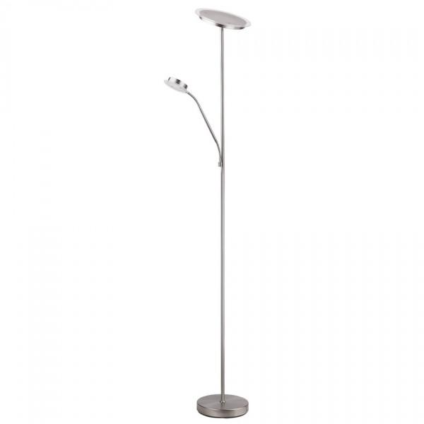 RABALUX AARON 4162 stojacia LED lampa, strieborná