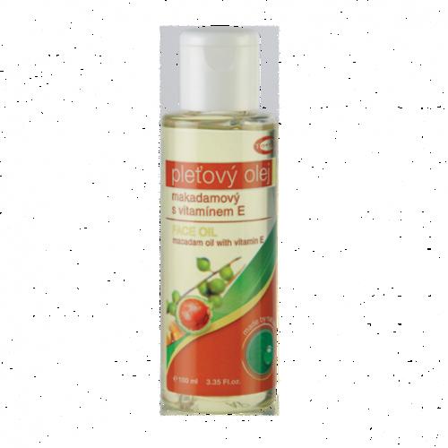 Topvet Pleťový Makadamiový olej, 100 ml