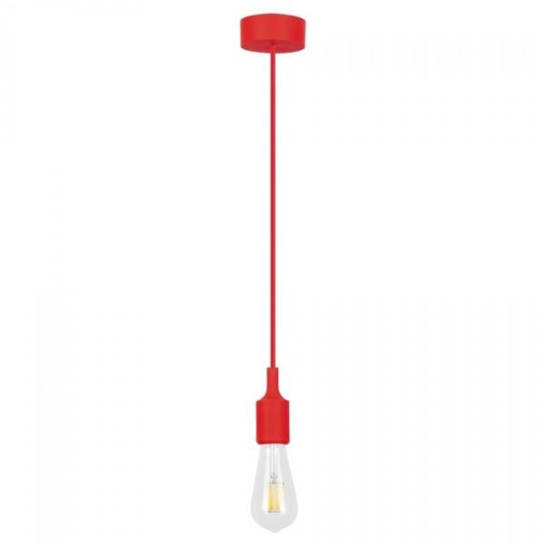 Rabalux 1414 Roxy závesné svietidlo, červená