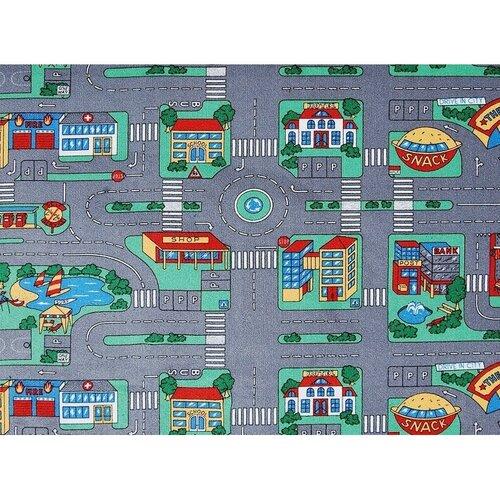 Spoltex Detský koberec Playground, 95 x 200 cm