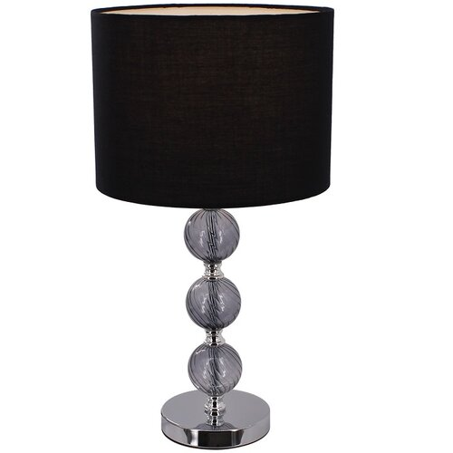 Tempo Kondela Stolná lampa Jade 7, čierna