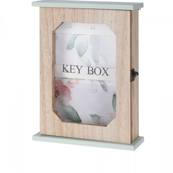Drevená skrinka na kľúče Santini