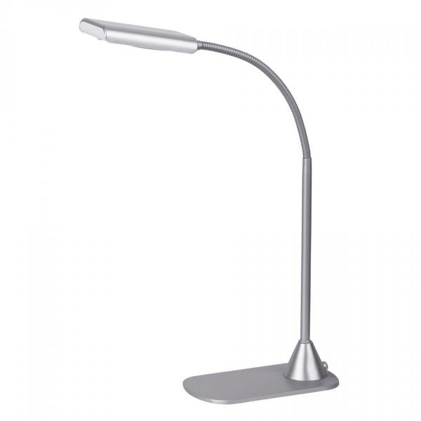 RABALUX EDWARD 4448 stolná LED lampa, strieborná