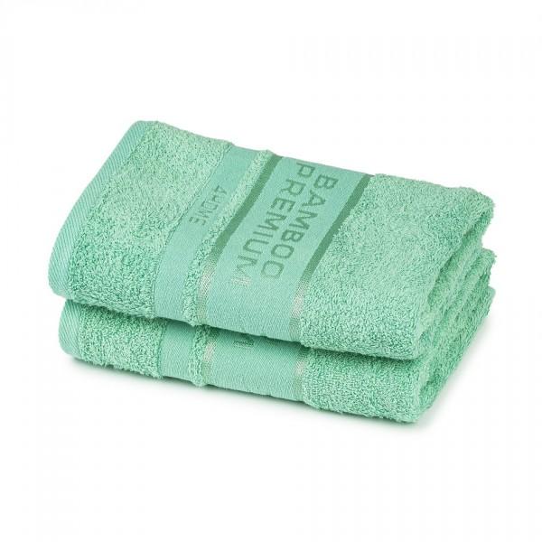 4Home Bamboo Premium uterák mentolová, 50 x 100 cm, sada 2 ks
