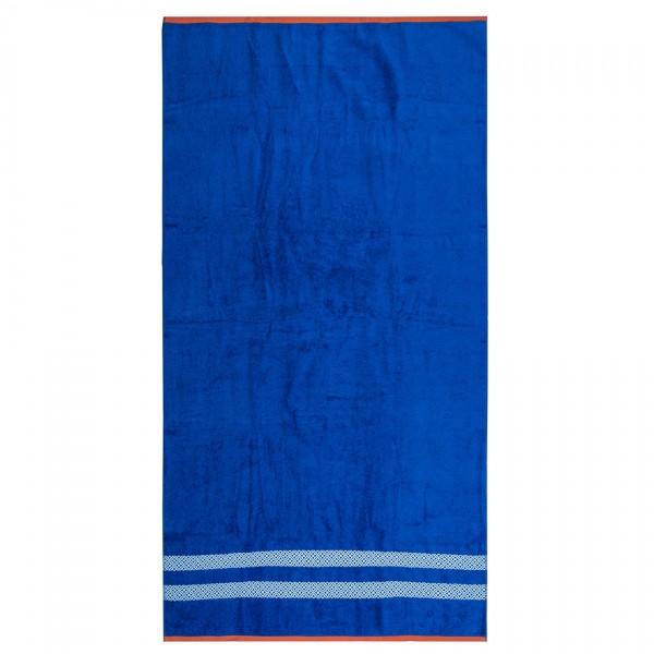 TipTrade Plážová osuška Blossom modrá 90x170
