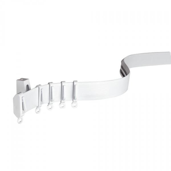 Gardinia Koľajnica FlexLine ohybná biela, 350 cm