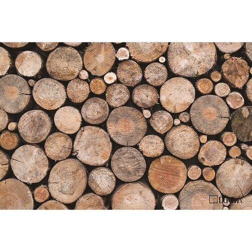 Domarex Rohožka Live&Laugh Wooden, 40 x 60 cm