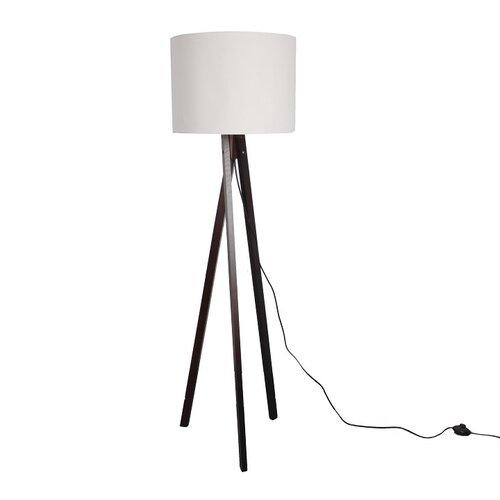 Tempo Kondela Stojaca lampa Lila 9, biela