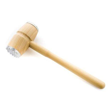 Drevená palička na mäso okovená Brillante, BANQUET