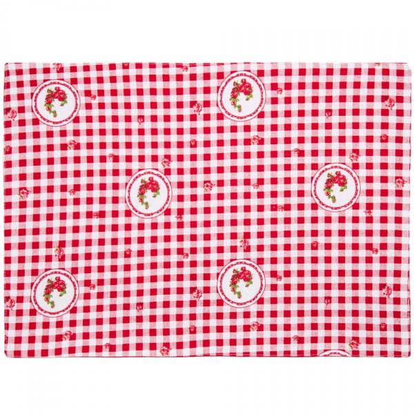 Trade Concept Prestieranie Country kocka červená, 33 x 45 cm