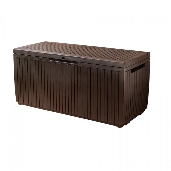 KETER SPRINGWOOD Storage záhradný úložný box, 305 l, hnedá 17202378