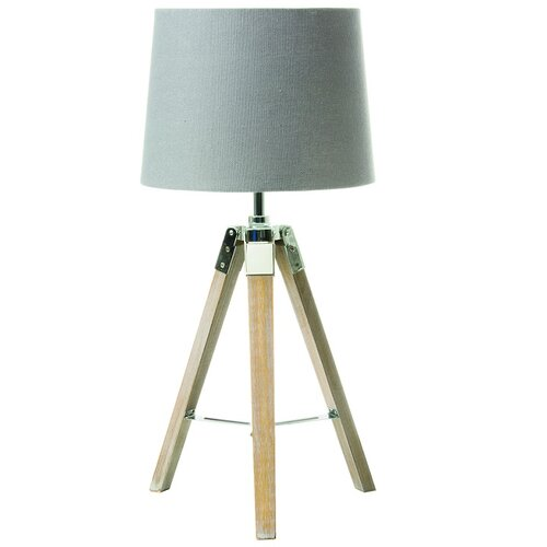 Tempo Kondela Stolná lampa Jade 2, sivá