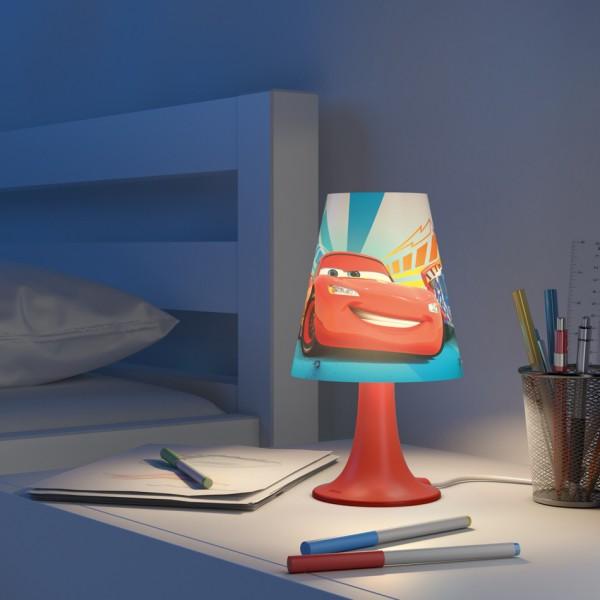Philips Disney Lampa stolná Cars Autá