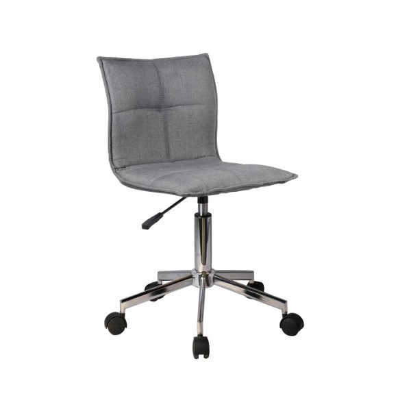 TEMPO KONDELA Kancelárska stolička, sivá, CRAIG