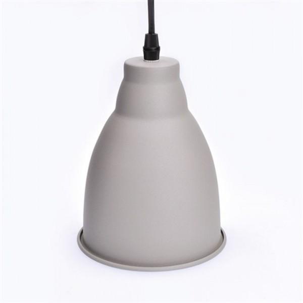 Kovový luster, matná sivá, TRENTO WA009-G