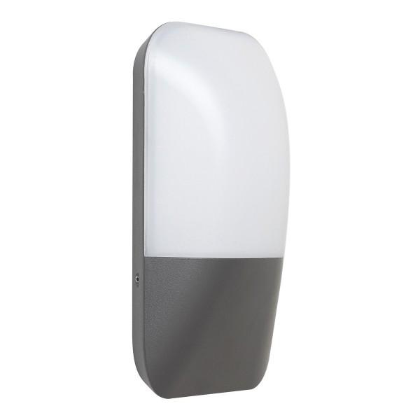Rabalux 7996 Ecuador Vonkajší LED nástenné svietidlo, sivá