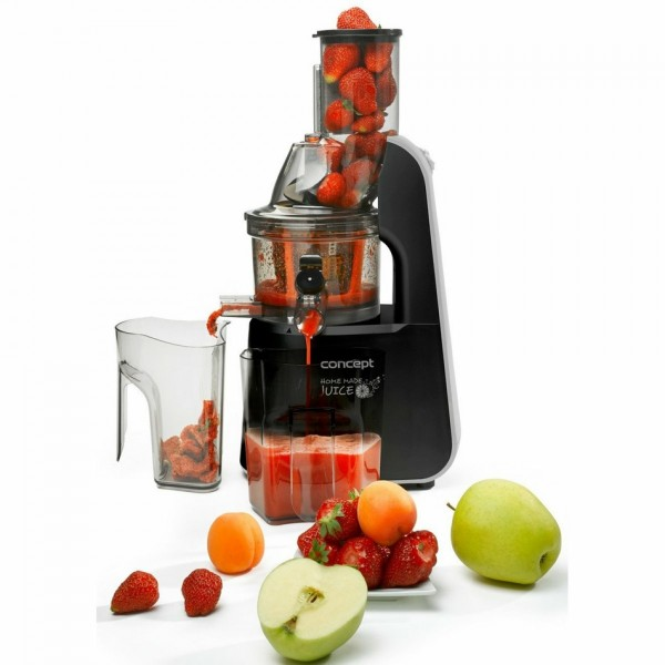 CONCEPT LO7067 Lis na ovocie a zeleninu HOME MADE JUICE čierny lo7067