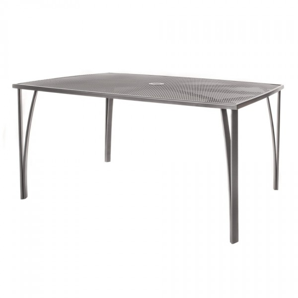 Happy Green Záhradný oceľový stôl, 150 x 90 cm