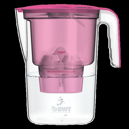 BWT filtračná kanvica Vida 2,6 l ružová + filtr