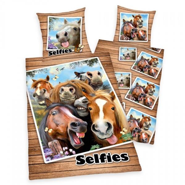 Herding Bavlnené obliečky Farm Selfie, 140 x 200 cm, 70 x 90 cm