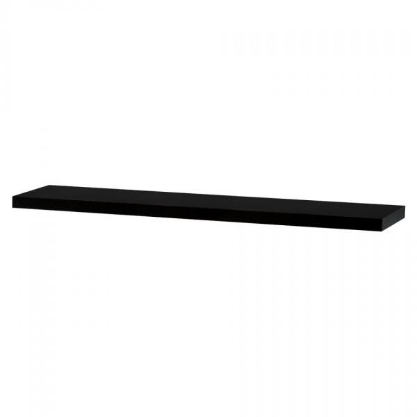 Nástenná polička Shelfy 120 cm, wenge, 120 cm