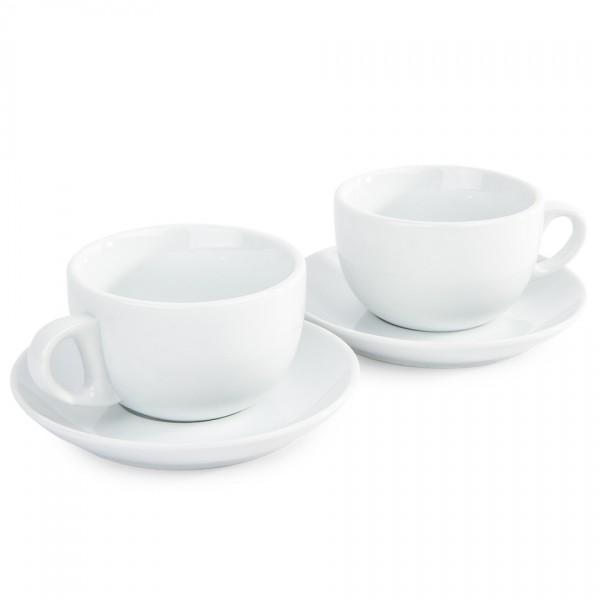 Domestic sada 2 šálok a 2 podšálok na Espresso, 280 ml
