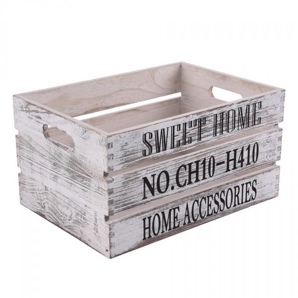 Orion Drevená debnička Sweet Home, 40 x 30 cm
