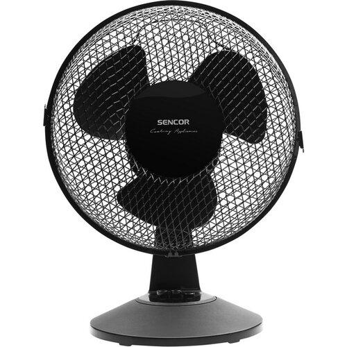 Sencor SFE 2311BK Stolný ventilátor
