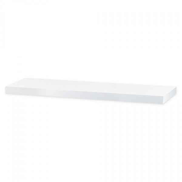 Nástenná polička Shelfy 80 cm, biela, 80 cm