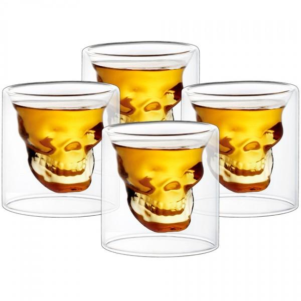 4home Poldecáky Skull Hot&Cool 20 ml, 4 ks