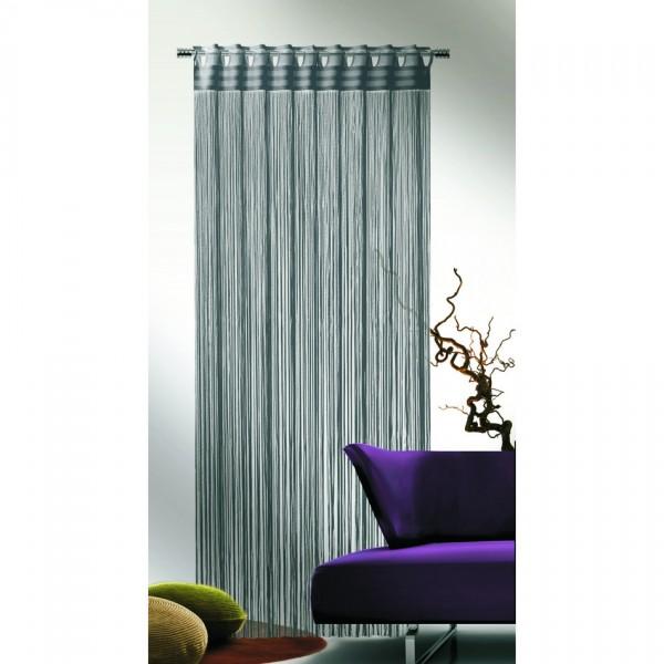 Albani Povrázková záclona Cord sivá, 90 x 245 cm